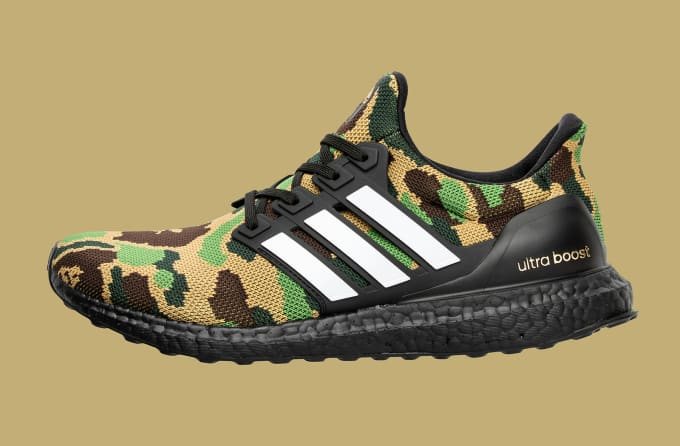Adidas Football by Bape Ultra Boost 'Green'