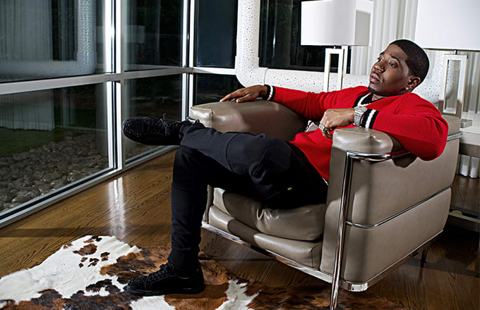 YFN Lucci for Sean John's Holiday 2017/Spring 2018 'Dream Big' campaign.