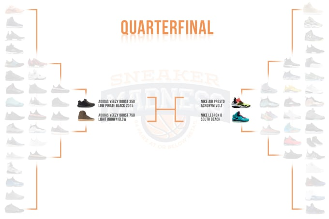 best sneakers 63484 bf987 Complex Sneakers x StockX Sneaker Madness Quarter Finals ...