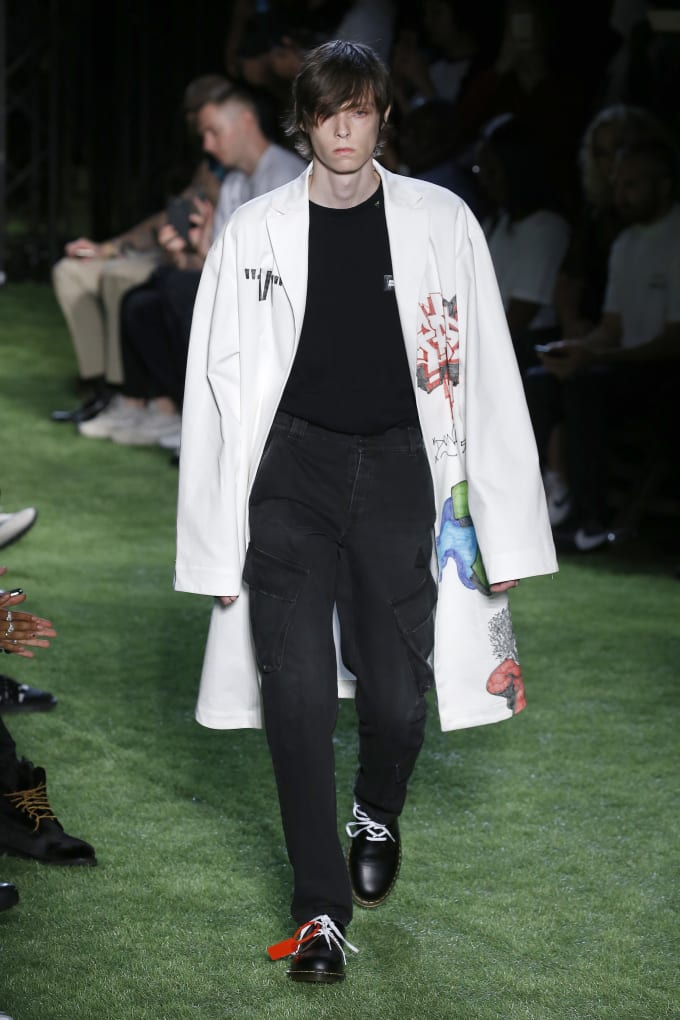 Off-White Spring 2019 show