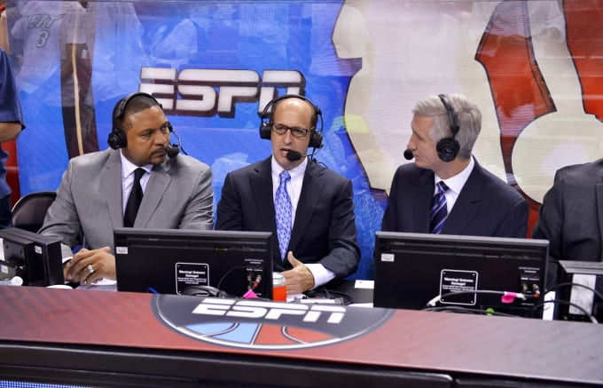 Jeff Van Gundy Mark Jackson Mike Breen ESPN 2014