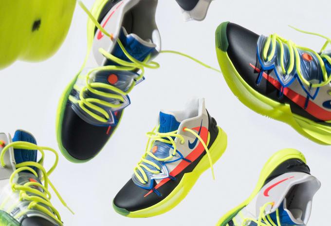 Rokit x Nike Kyrie 5 Collage
