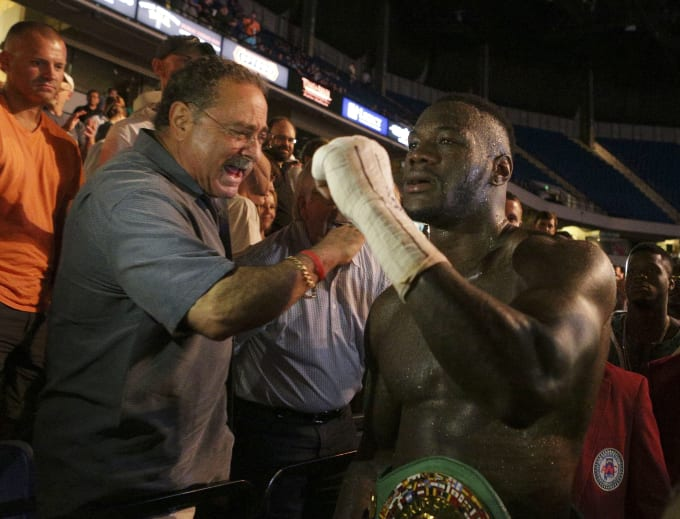 Deontay Wilder Chris Areola 2016