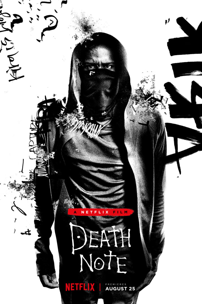 LaKeith Stanfield as L in 'Death Note' poster