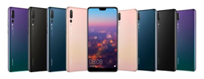 Huawei P20 series is now available in Canada
