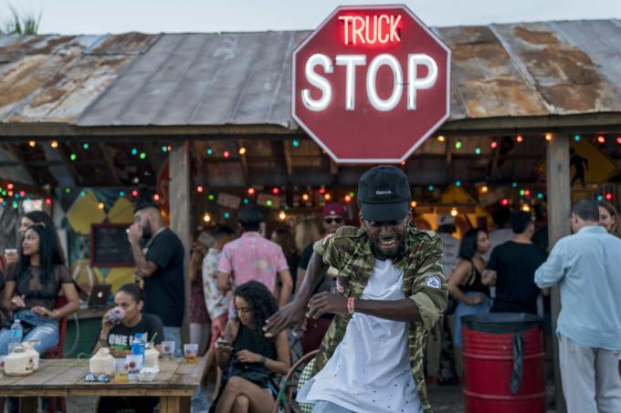 truck stop food