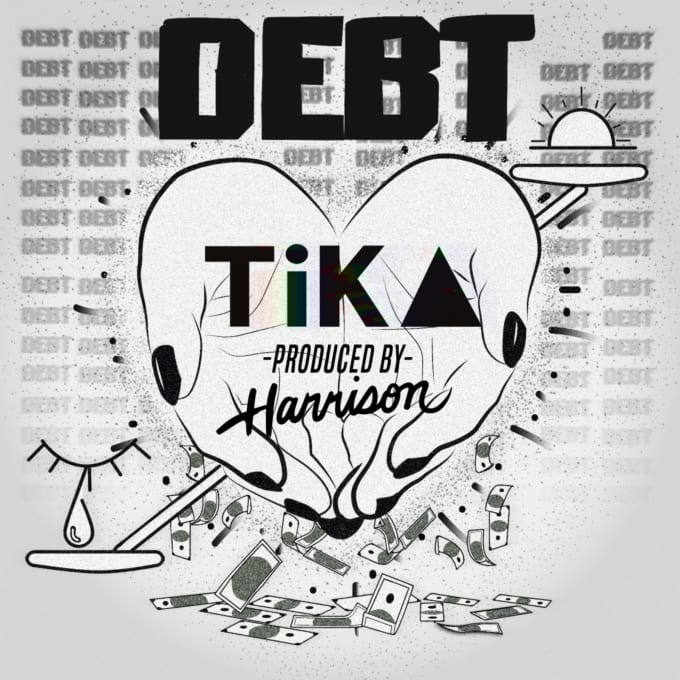 tika-harrison-debt-single-premiere-artwork
