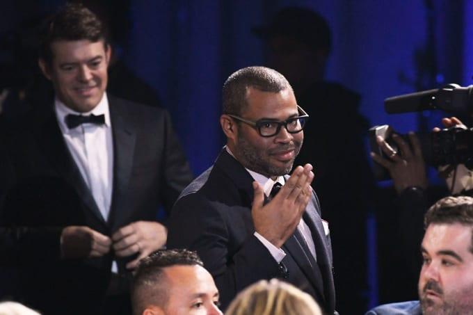 Jordan Peele wins during The 23rd Annual Critics' Choice Awards
