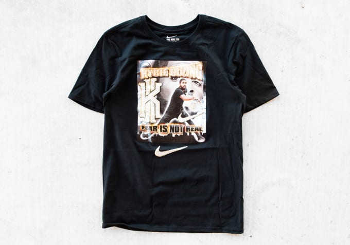 Nike's Kyrie Irving T-shirt inspired by Pen & Pixel.