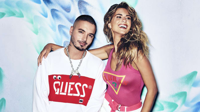 J Balvin x GUESS Campaign