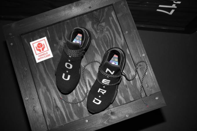 NERD Pharrell Adidas NMD HU ComplexCon Exclusive Release Date Top