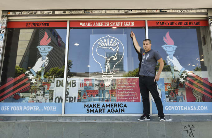 Shepard Fairey Storefront