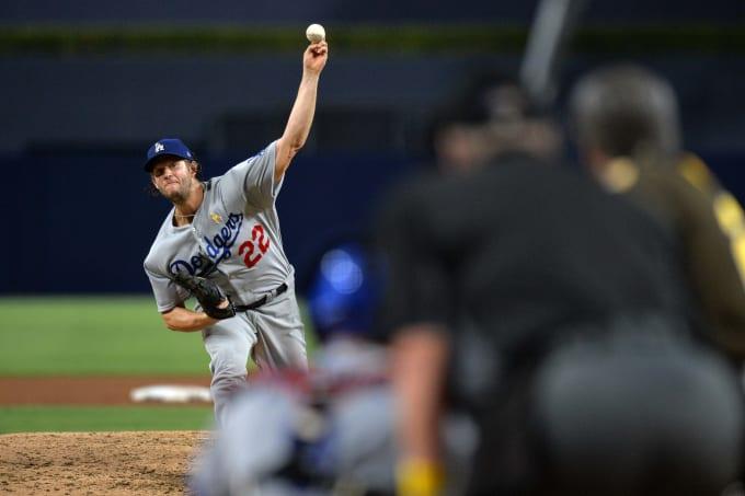 Clayton Kershaw Dodgers Padres 2017