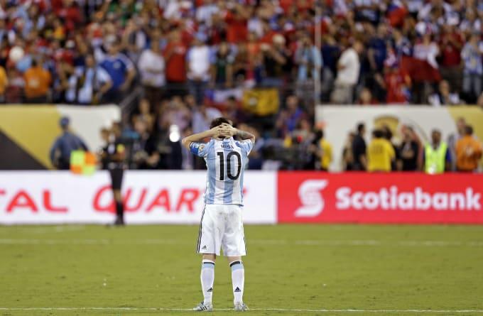 Messi Copa America 2016 Chile Argentina