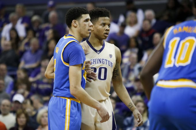 Lonzo Ball Markelle Fultz Washington UCLA 2017 3