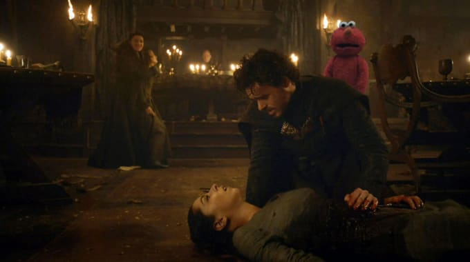 Photoshop Battle Over 'Devastated Elmo'