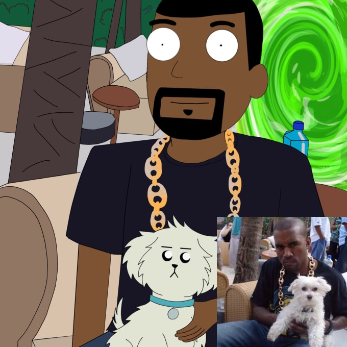 kanye-west-rick-and-morty-dog1