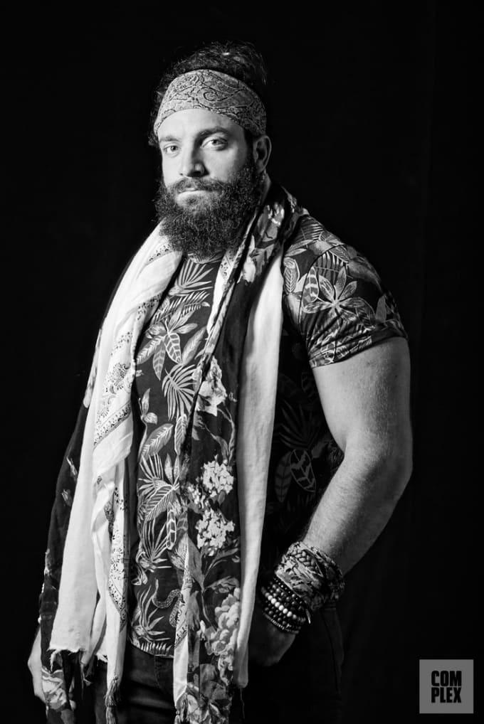 Elias WWE Superstar Vertical Complex Original 2018