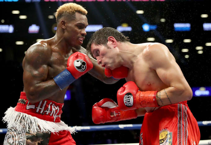 Jermall Charlo Heiland Barclays Center 2017