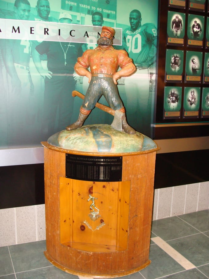 Paul Bunyan trophy