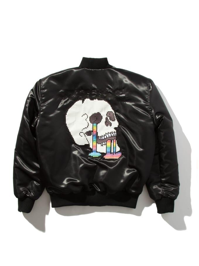 rhude bomber jacket