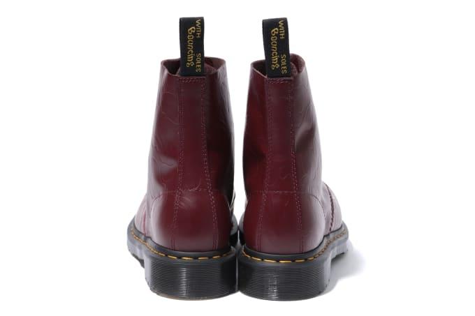 Bape x Dr. Martens 1460 'Red' (Heel)