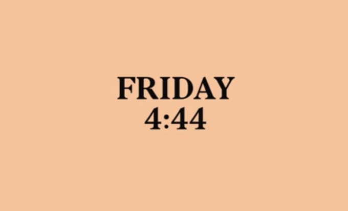 friday 444 video tease