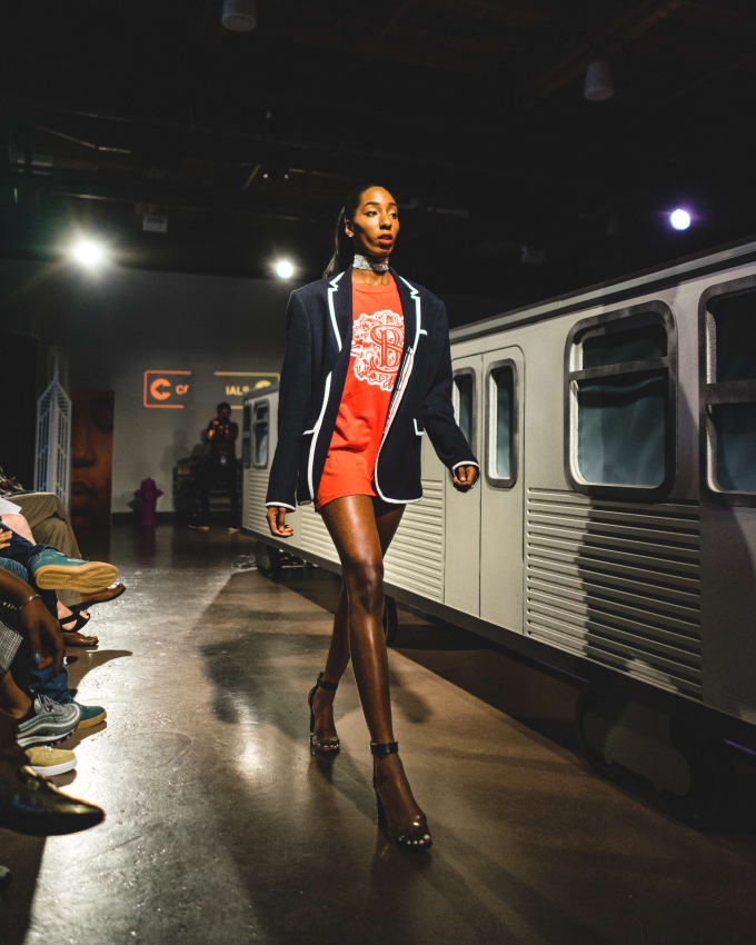 Chicago CRED fashion show