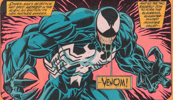 Venom's hatred for Spider-Man