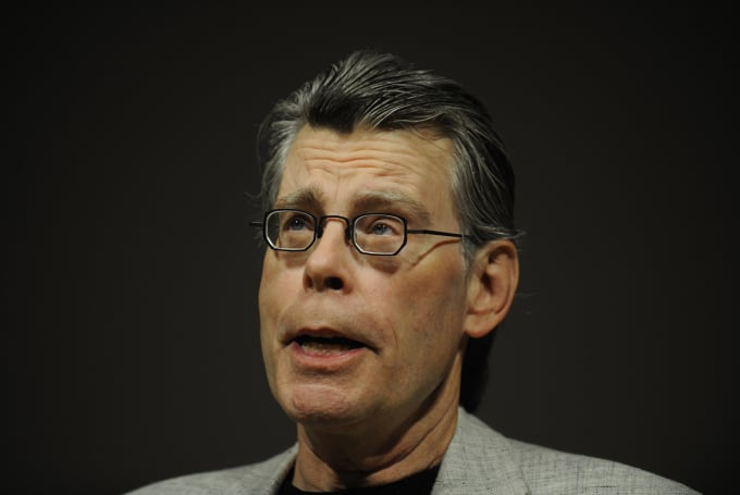 Stephen King at Kindle 2 press conference