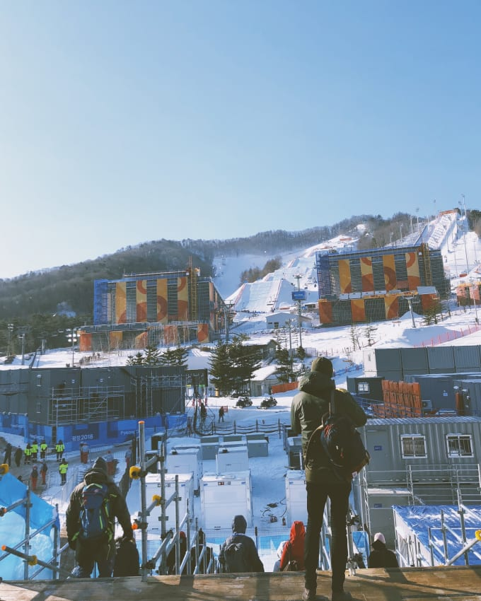 South Korea Women's Snowboard Slopes