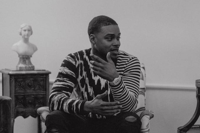 Errol Spence Jr Nomad 2018 Horizontal B/W