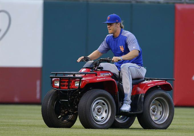 Noah Syndergaard ATV Mets Phillies 2017