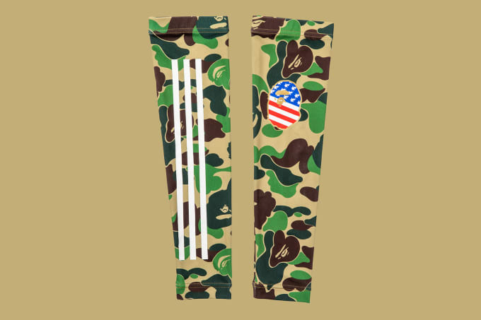 Adidas Football by Bape Arm Sleeve 'Green'