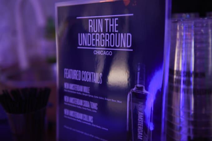 Complex x New Amsterdam Vodka's 'Run the Underground' Chicago Party