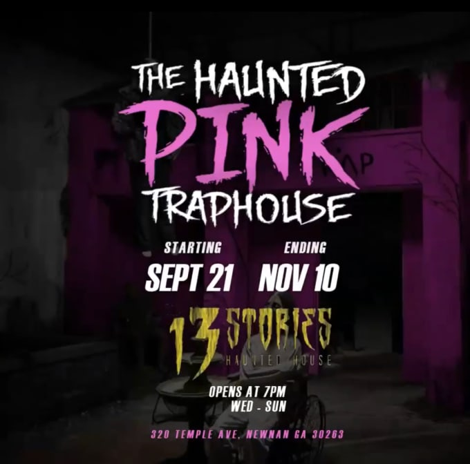 2 Chainz's Haunted Pink Trap House