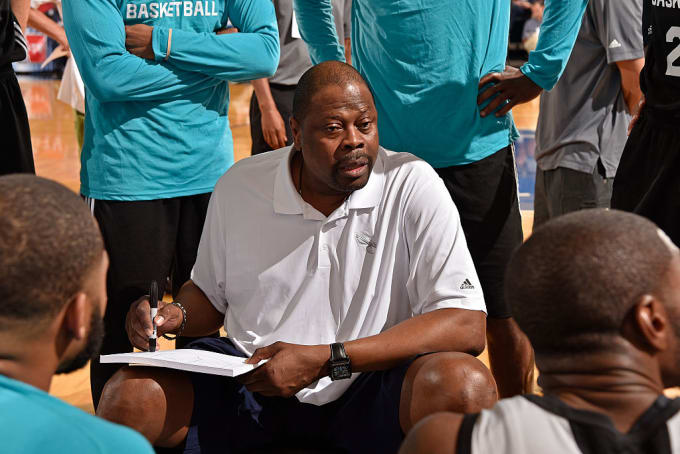 Patrick Ewing coach