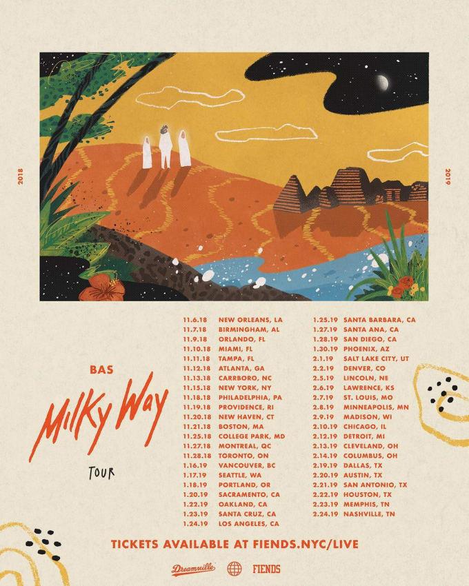 Bas Milky Way Tour