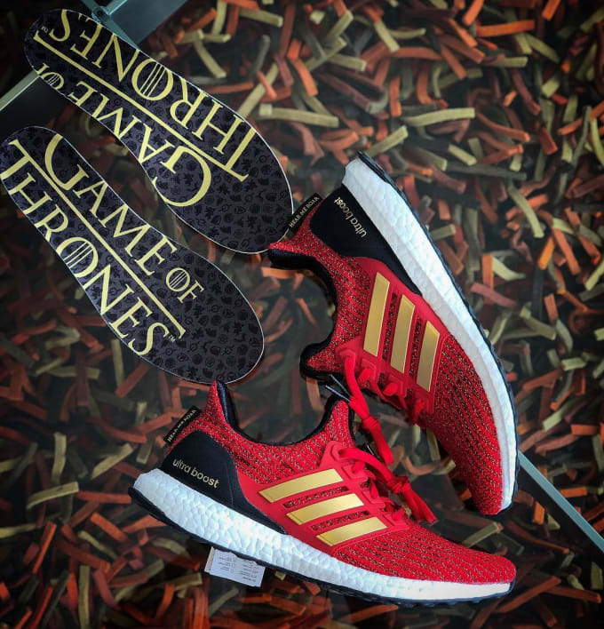 Game of Thrones x Adidas Ultra boost Lannister Release Date