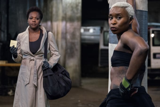 Viola Davis and Cynthia Erivo in 'Widows'