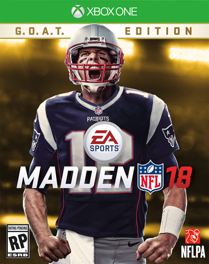 info for 03f1c 4315b Tom Brady Is on the Cover of 'Madden NFL 18' | Complex