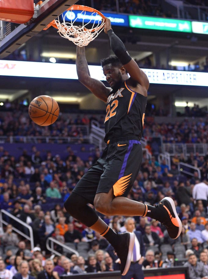 Deandre Ayton Dunk Suns Warriors 2019