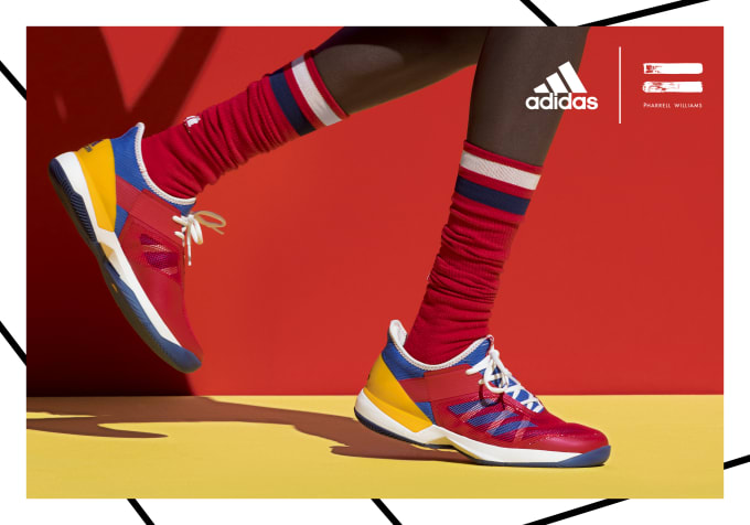 adidas pharrell tennis shoes