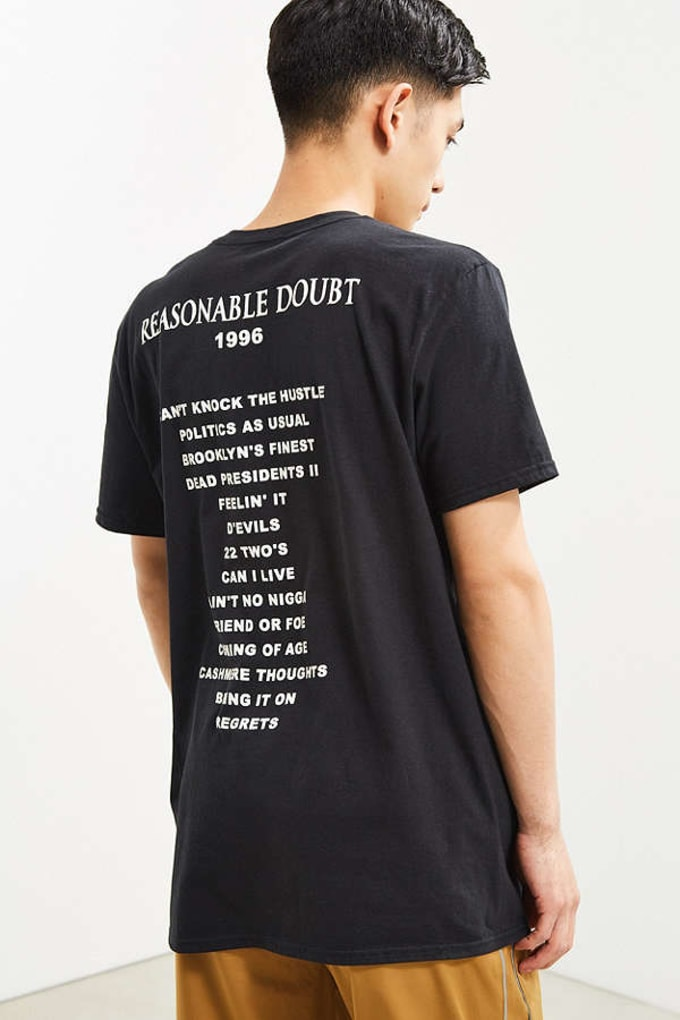 Urban Outfitters Jay Z Resonable Doubt Exclusive Line