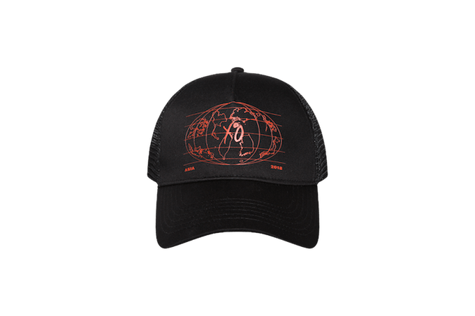xo trucker tour hat
