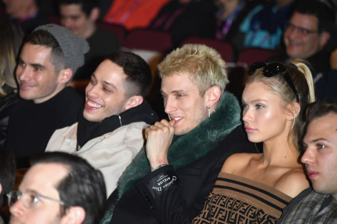 Pete Davidson and Colson Baker attend the 'Big Time Adolescence' Premiere
