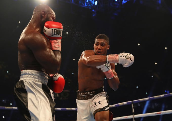 Anthony Joshua Carlos Takam 2017 Getty