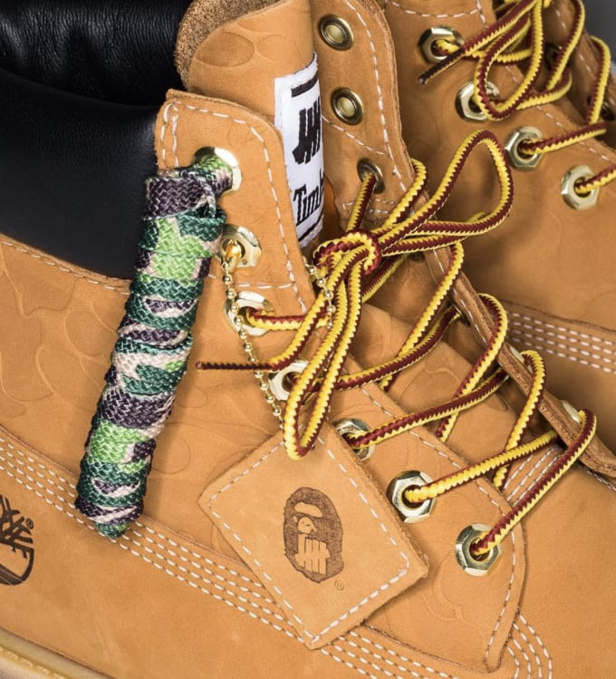 Undefeated x Bape x Timberland 6 Boot 2