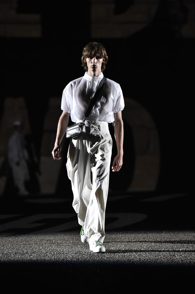 Off-White Pitti Uomo fashion show