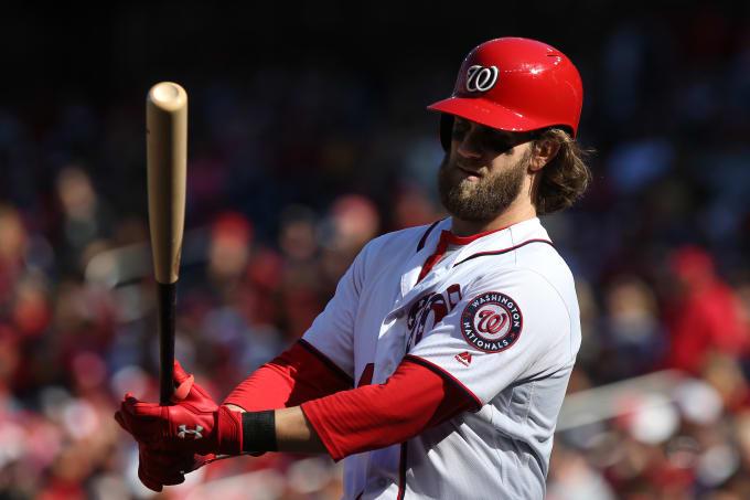 Bryce Harper Nationals Pirates 2017
